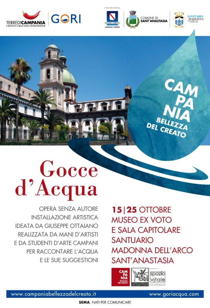 """""""Gocce d'Acqua"""": nuova esposizione al Santuario della Madonna dell'Arco"""